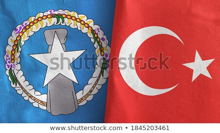 Turkey and Northern Mariana Islands  Stock photo © Istanbul2009