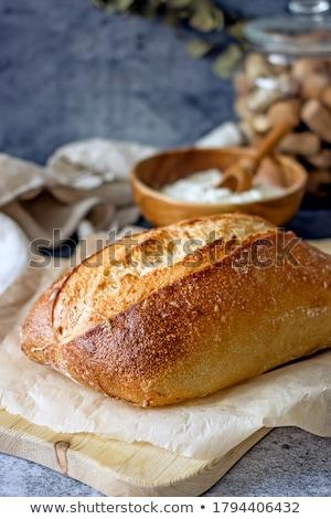 frescos · sabroso · baguette · alimentos · salud · trigo - foto stock © jordanrusev