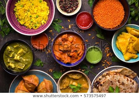 Esotiche alimentare cucina asiatica simbolo bacchette Foto d'archivio © Lightsource