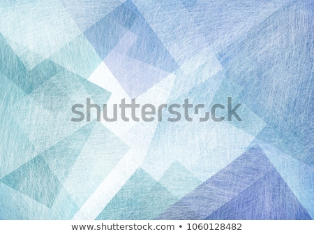 blue overlap layer paper material design stock photo © punsayaporn
