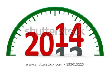 clock 2013 half stock photo © oakozhan