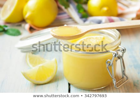 homemade lemon curd Stock photo © M-studio