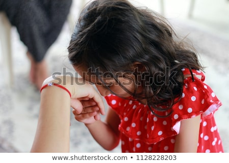 romantikus · csók · torok · fiatalember · csók · gyönyörű · nő - stock fotó © zurijeta