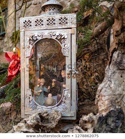 heykelcik · bakire · bebek · İsa · İncil · heykel - stok fotoğraf © luissantos84