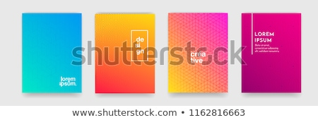 Abstract blue texture background with rectangle Stock photo © fresh_5265954