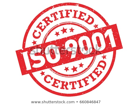 Rubber stamp iso 9001 Stock photo © Ustofre9