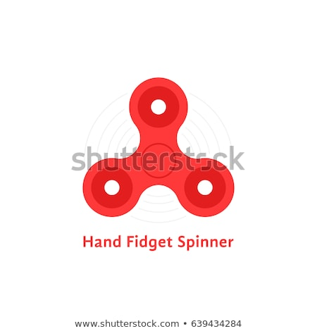 spinner flat icon stock photo © biv