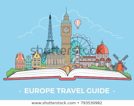 Croácia · viajar · conjunto · carro - foto stock © genestro