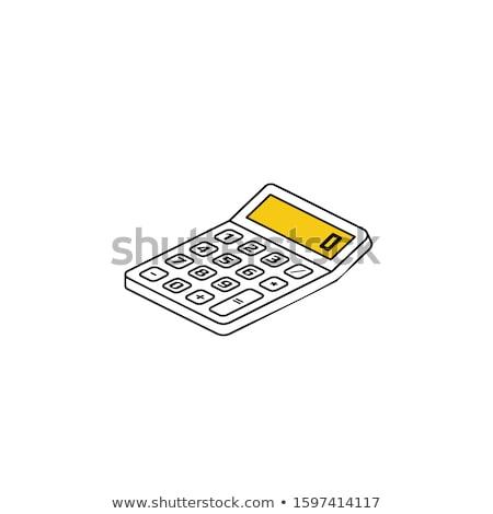 докладе · клавиатура · ПК · синий - Сток-фото © tashatuvango