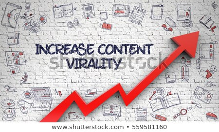 increase content virality concept 3d render stock photo © tashatuvango