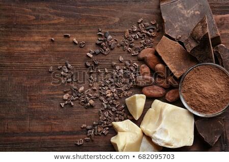 kakao · ürünleri · geleneksel - stok fotoğraf © photo25th