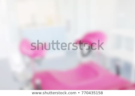 Defocused blur background of gynecological examination chair Stock photo © nenovbrothers