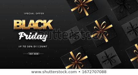Vente affiche flyer design réduction boutique en ligne Photo stock © Leo_Edition