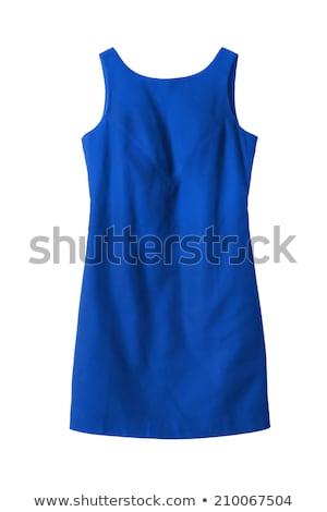 Stok fotoğraf: Zarif · bayan · moda · mini · elbise · uzun · saçlı