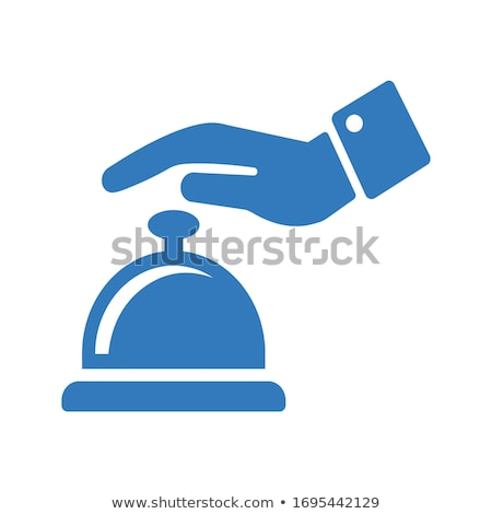 business alarm concept. hand ringing the bell Stock photo © rogistok