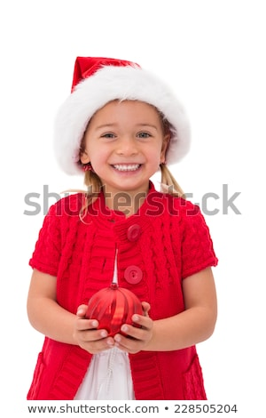 Dziewczyna cacko christmas Zdjęcia stock © IS2