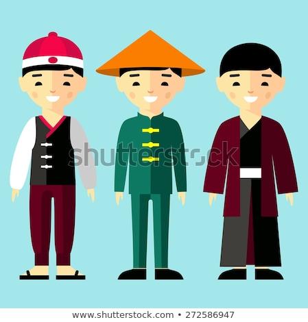 felhasználó · szett · számítógép · felhasználók · jó · webdesign - stock fotó © nikodzhi