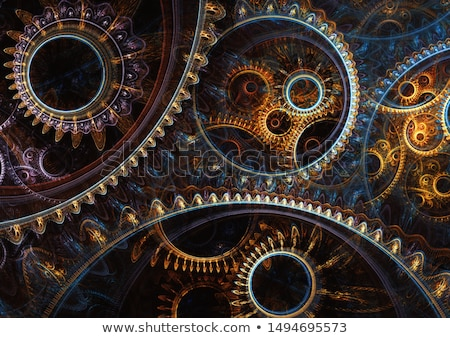 Steampunk Illustration Stock photo © abdulsatarid