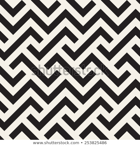 Herringbone lines seamless vector pattern. Stock photo © yopixart
