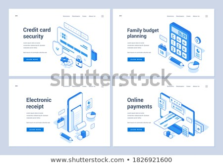 Advertising Services, Means of Advertisement Set Stock photo © robuart