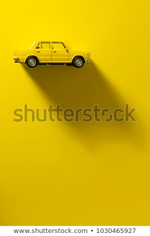 Yellow Personal Car. Transportation or Traveling Concept. Stock photo © tashatuvango