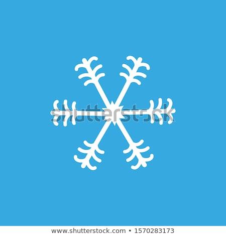 Geometrica Natale line arte vettore abstract Foto d'archivio © marish
