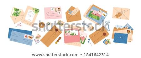 Tesoura ilustração conjunto elegante negócio ferramentas Foto stock © Blue_daemon
