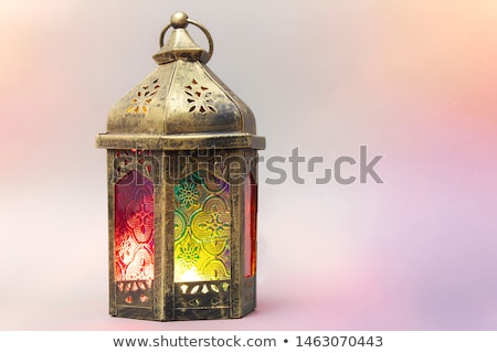 Turkish decorative lamps Stock photo © boggy