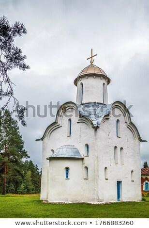 Kapel Rusland kerk een kerken dating Stockfoto © borisb17
