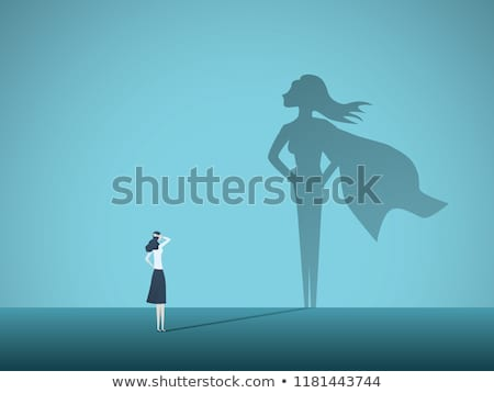 Businesswoman Challenges Concept Stock photo © Lightsource