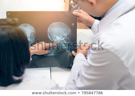 голову служба операция красочный Сток-фото © ra2studio