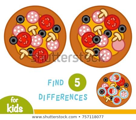 Place différence jeu enfants adultes tâche Photo stock © Olena