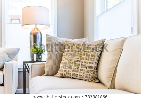 Stock fotó: New White And Beige Apartment Houses