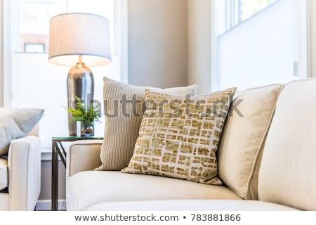 Nowego biały beżowy apartamentu domów Berlin Zdjęcia stock © elxeneize