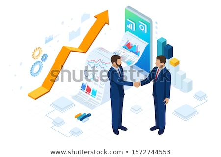 Transactional marketing abstract concept vector illustration. Stock photo © RAStudio
