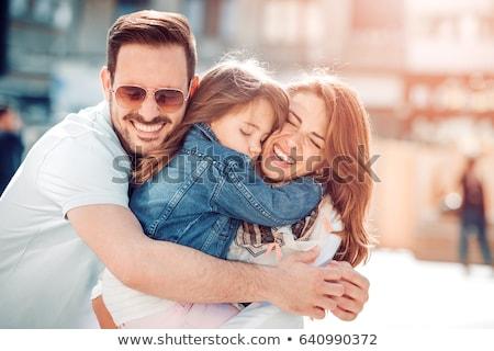 семьи · любви · мало · ребенка · стороны - Сток-фото © fahrner