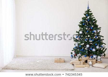 christmas · jodła · nowy · rok · charakter · śniegu - zdjęcia stock © ruslanomega