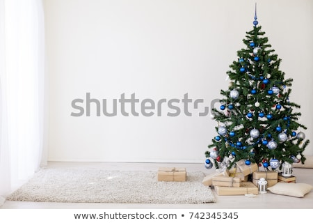 Christmas Tree gold bumps Stock photo © RuslanOmega