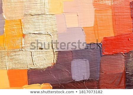 赤 白 在庫 画像 絵筆 塗料 ストックフォト © iodrakon