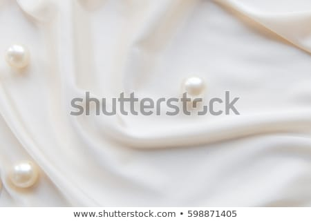 silk with pearls stock photo © neirfy