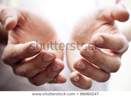 hand begging alms  Stock photo © Pakhnyushchyy