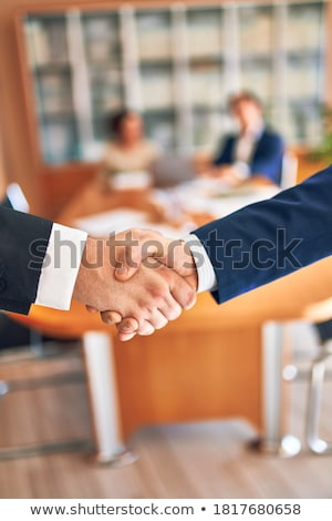 happy confident lawyer stock photo © erierika