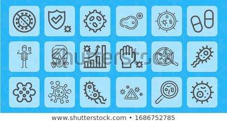 eenvoudige · medische · iconen · vector · arts - stockfoto © stoyanh