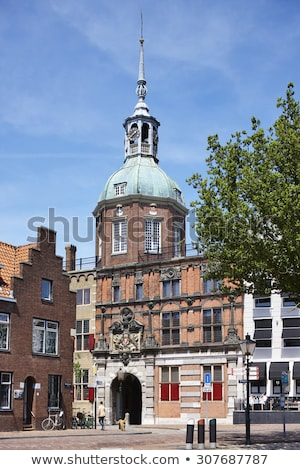 City gate to dordrecht stock photo © duoduo