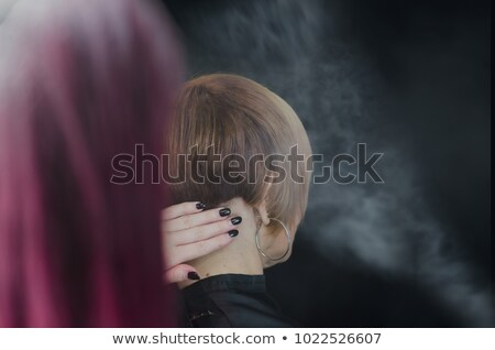 Sophisticated woman with hairspray Stock photo © photography33