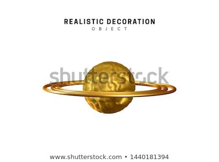 планеты кольцами мира пространстве фантазий Сток-фото © Artida