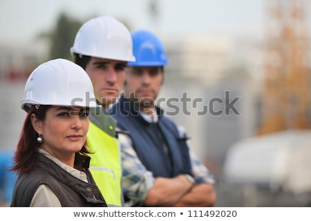 woman working in male preserve Stock photo © photography33