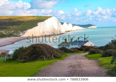 Seven Sisters near of Newhaven Stock photo © prill