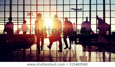 Colleagues on a business trip Stock fotó © photography33