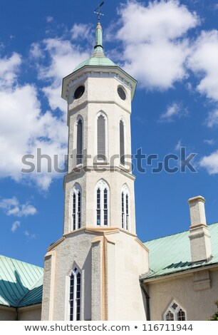 Steeple of Fredericksburg County Courthouse Stock photo © backyardproductions
